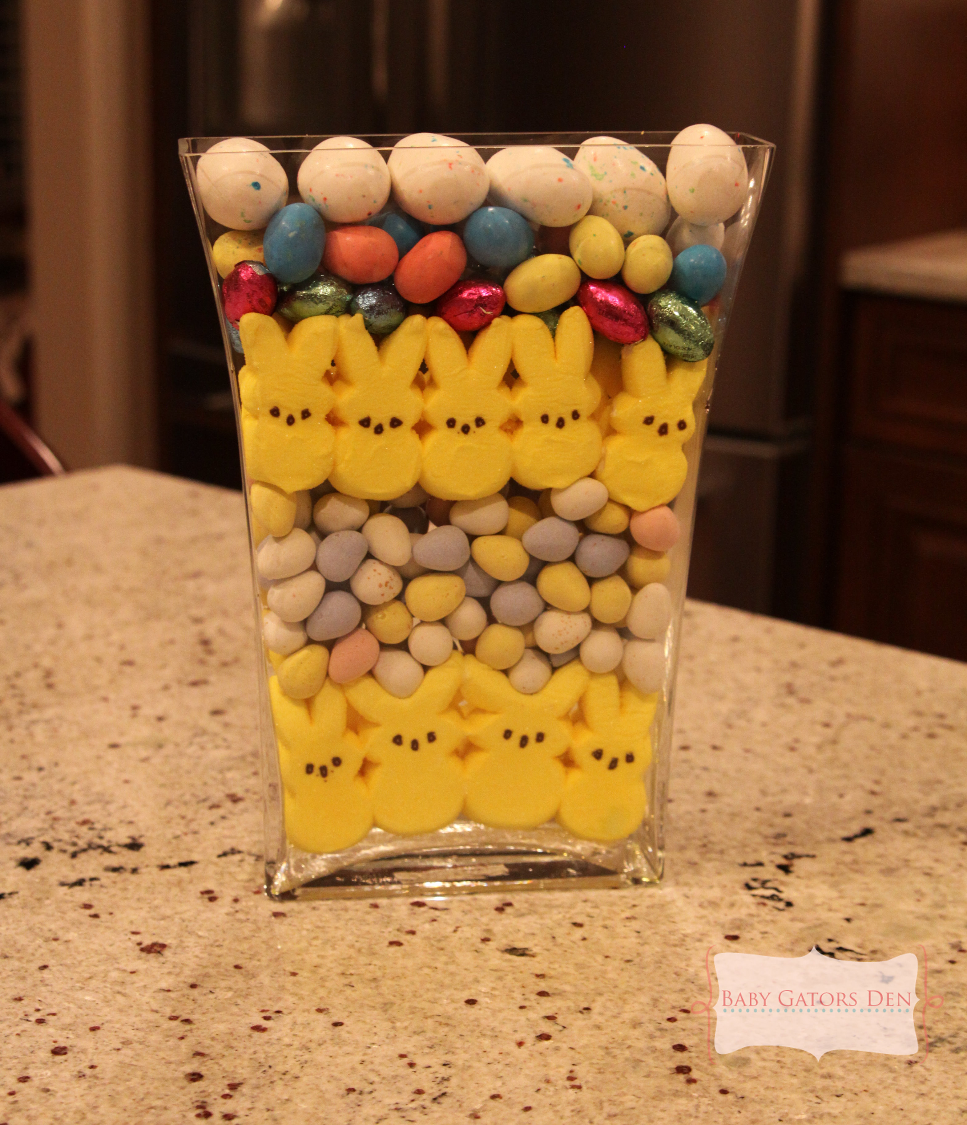 My Easter Candy Craft via Pinterest
