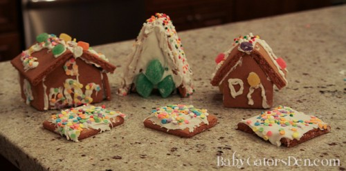 Gingerbread Sheds: My latest Pinterest failure
