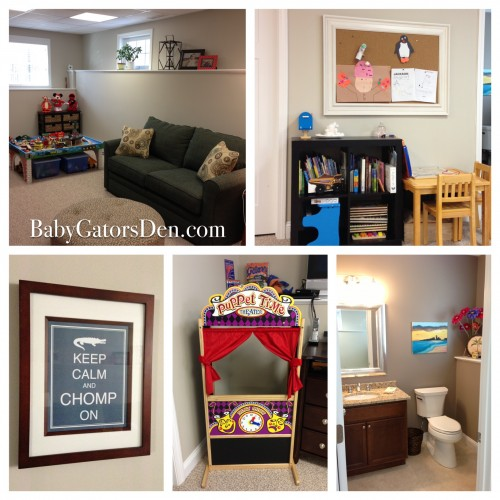 Our La-Z-Boy Playroom Re-do is Complete!