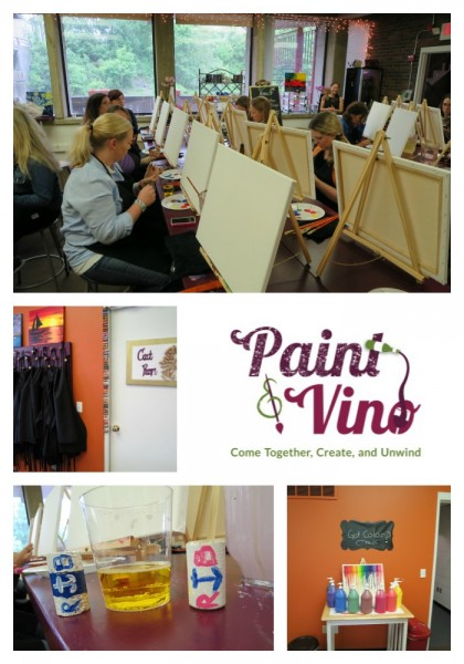 Paint and Vino: What's better than that?