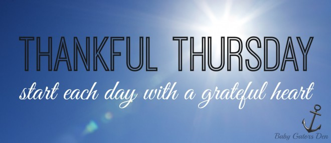 Thankful Thursday by Baby Gators Den