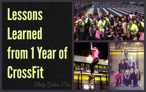10 Lessons Learned from 1 Year of CrossFit